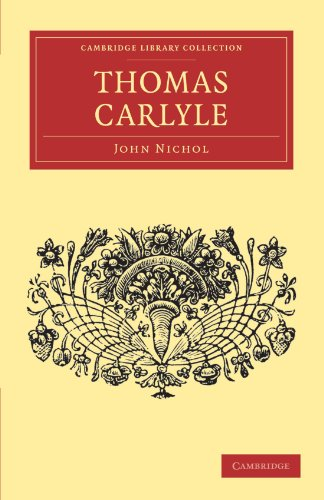 9781108034470: Thomas Carlyle (Cambridge Library Collection - English Men of Letters)