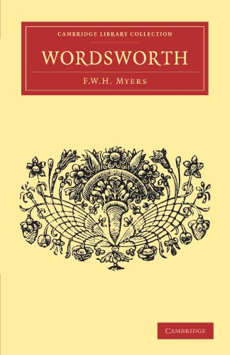 Wordsworth: F. W. H. MYERS