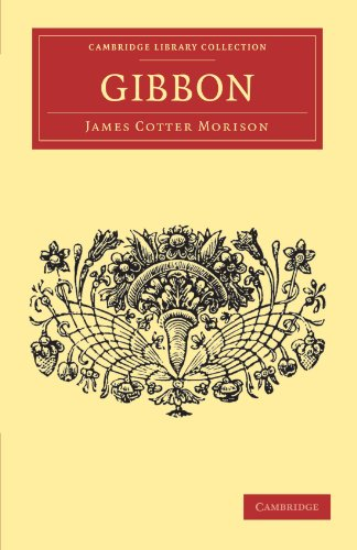 9781108034685: Gibbon (Cambridge Library Collection - English Men of Letters)