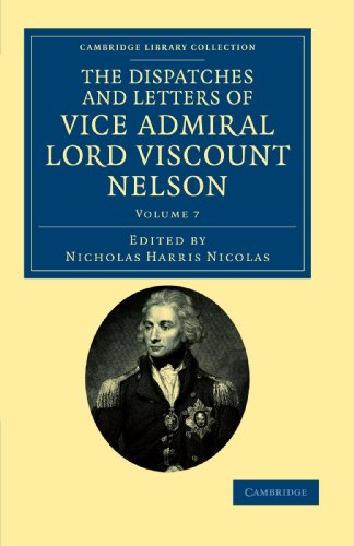 The Dispatches And Letters Of Lord Nelson. The Nicolas Edition - 7 Vols
