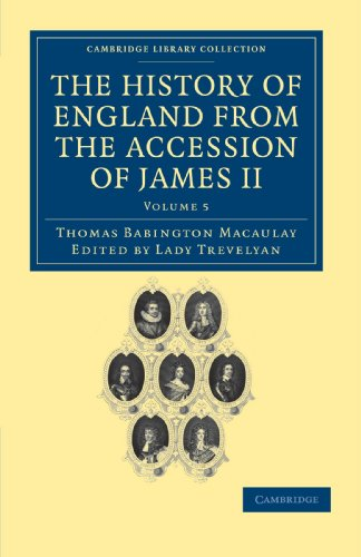 9781108036054: 5: The History of England from the Accession of James II (Cambridge Library Collection - British & Irish History, 17th & 18th Centuries) (Volume 5)
