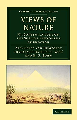Views of Nature: ALEXANDER VON HUMBOLDT