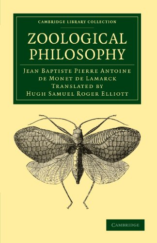 9781108038423: Zoological Philosophy: An Exposition with Regard to the Natural History of Animals (Cambridge Library Collection - Darwin, Evolution and Genetics)