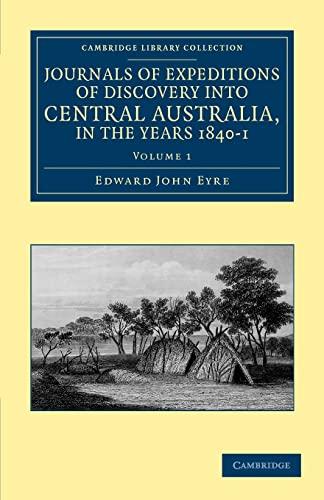australian explorers edward john eyre essay