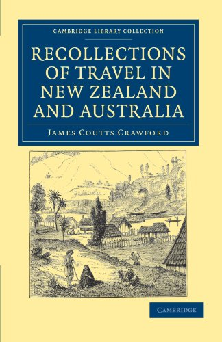 9781108039390: Recollections of Travel in New Zealand and Australia (Cambridge Library Collection - History of Oceania)