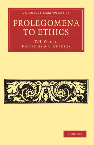 9781108040327: Prolegomena to Ethics (Cambridge Library Collection - Philosophy)