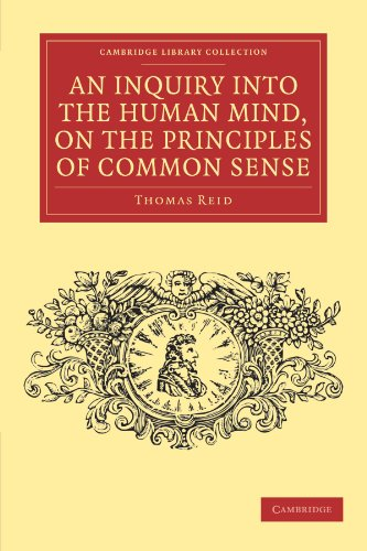 9781108040358: An Inquiry into the Human Mind, on the Principles of Common Sense (Cambridge Library Collection - Philosophy)