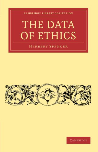 9781108040853: The Data of Ethics (Cambridge Library Collection - Philosophy)