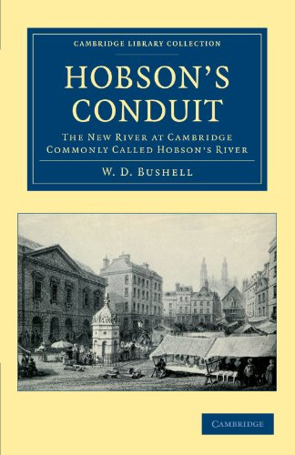 9781108042444: Hobson's Conduit: The New River at Cambridge Commonly Called Hobson's River (Cambridge Library Collection - Cambridge)