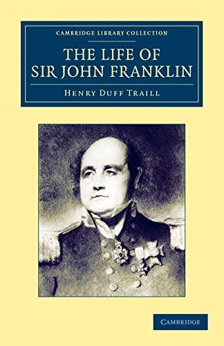 9781108045124: The Life of Sir John Franklin, R.N. (Cambridge Library Collection - Polar Exploration)