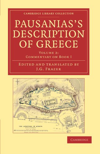 9781108047241: Pausanias's Description of Greece (Cambridge Library Collection - Classics) (Volume 2)
