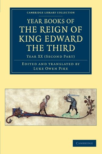 9781108048033: Year Books of the Reign of King Edward the Third (Cambridge Library Collection - Rolls) (Volume 15)