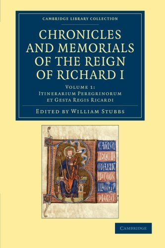 Chronicles and Memorials of the Reign of