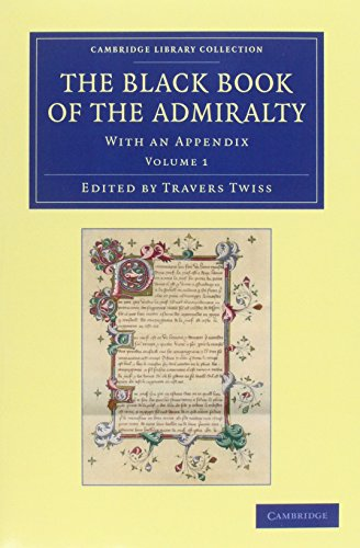 The Black Book of the Admiralty 4 Volume Set (Paperback)
