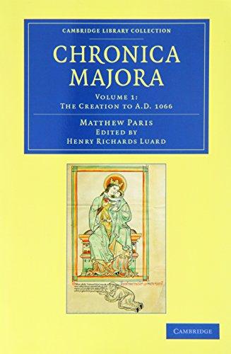 Matthaei Parisiensis Chronica Majora 7 Volume Set (Paperback): Matthew Paris
