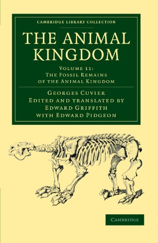 9781108049641: The Animal Kingdom: Arranged in Conformity with its Organization (Cambridge Library Collection - Zoology) (Volume 11)