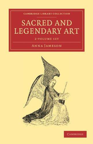 Sacred and Legendary Art 2 Volume Set (Hardcover): Anna Jameson
