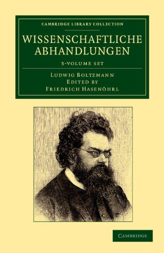 9781108052825: Wissenschaftliche Abhandlungen 3 Volume Set (Cambridge Library Collection - Physical Sciences) (German Edition)