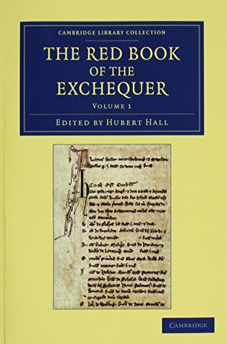 9781108053273: The Red Book of the Exchequer 3 Volume Set (Cambridge Library Collection - Rolls)