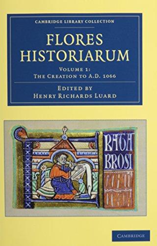 9781108053372: Flores historiarum 3 Volume Set (Cambridge Library Collection - Rolls)