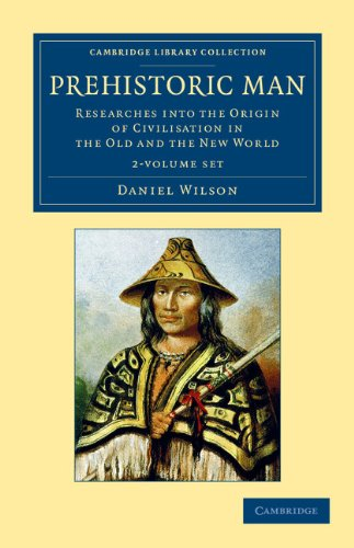 Prehistoric Man 2 Volume Set (Paperback): Daniel Wilson