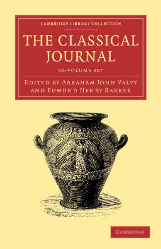 The Classical Journal 40 Volume Set (Paperback)