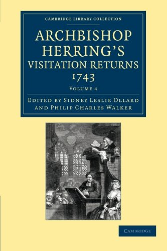 Archbishop Herrings Visitation Returns, 1743