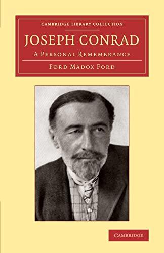9781108060943: Joseph Conrad: A Personal Remembrance (Cambridge Library Collection - Literary Studies)