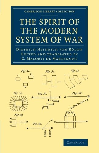 9781108061575: The Spirit of the Modern System of War (Cambridge Library Collection - Naval and Military History)