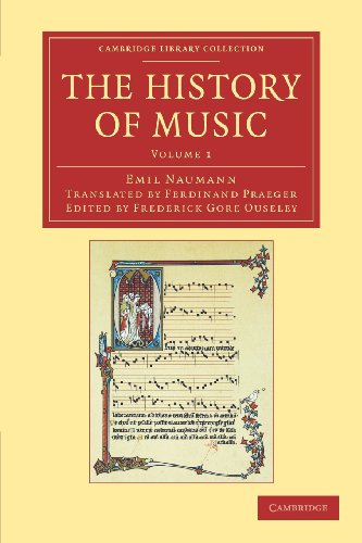 9781108061636: The History of Music: Volume 1 (Cambridge Library Collection - Music)