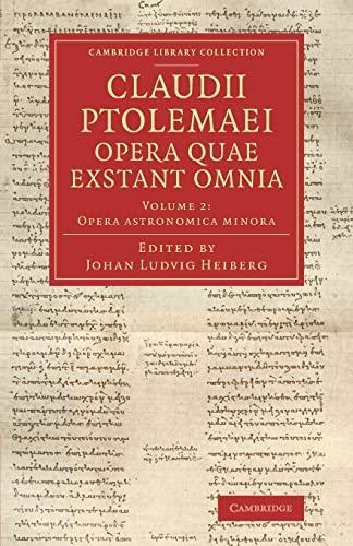 Claudii Ptolemaei Opera Quae Exstant Omnia: Ptolemy