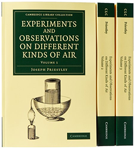 9781108064378: Experiments and Observations on Different Kinds of Air 3 Volume Set (Cambridge Library Collection - Physical Sciences)