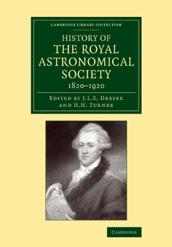 History of the Royal Astronomical Society, 1820-1920: J. L. E.