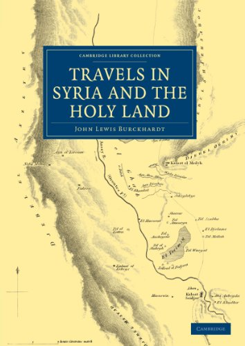 9781108069588: Travels in Syria and the Holy Land (Cambridge Library Collection - Travel, Middle East and Asia Minor)