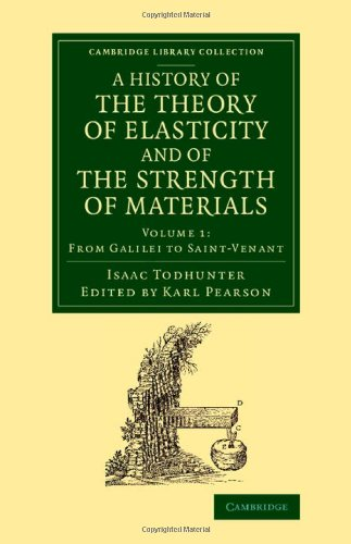 A History of the Theory of Elasticity: Isaac Todhunter