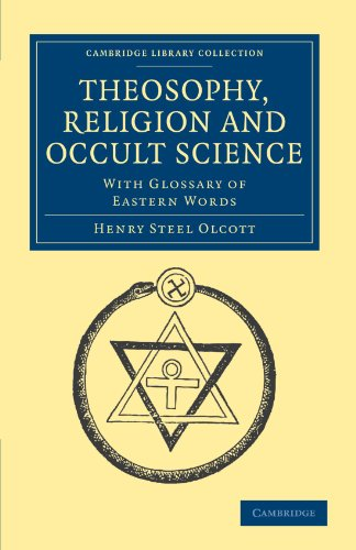 9781108072649: Theosophy, Religion and Occult Science: With Glossary of Eastern Words (Cambridge Library Collection - Spiritualism and Esoteric Knowledge)