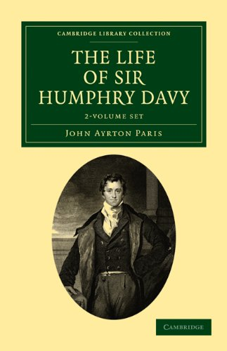 9781108073202: The Life of Sir Humphry Davy 2 Volume Set (Cambridge Library Collection - Life Sciences)