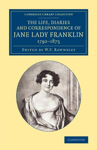 The Life, Diaries and Correspondence of Jane: Lady Jane Griffin