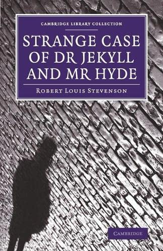 9781108075169: Strange Case of Dr Jekyll and Mr Hyde (Cambridge Library Collection - Fiction and Poetry)