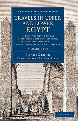 Travels in Upper and Lower Egypt (Hardcover): Vivant Denon