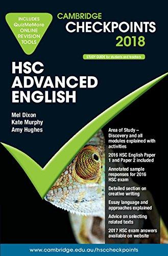 Cambridge Checkpoints HSC Advanced English 2018 and: Mel Dixon
