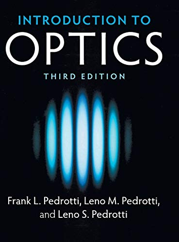 9781108428262: Introduction to Optics