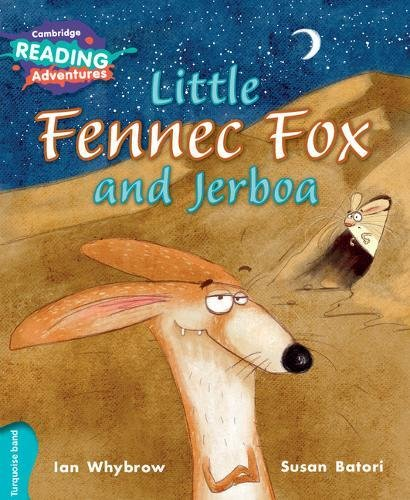 Little Fennec Fox and Jerboa Turquoise Band: Ian Whybrow