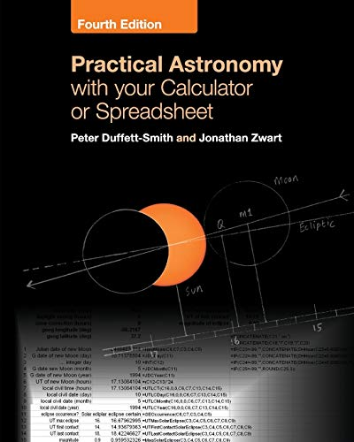 9781108436076: Practical Astronomy with your Calculator or Spreadsheet