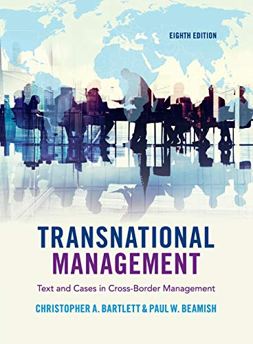 9781108436694: Transnational Management: Text and Cases in Cross-Border Management
