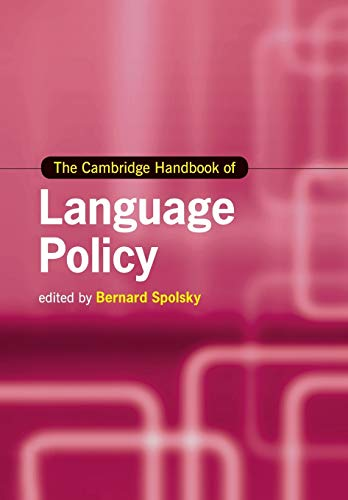9781108454117: The Cambridge Handbook of Language Policy (Cambridge Handbooks in Language and Linguistics)