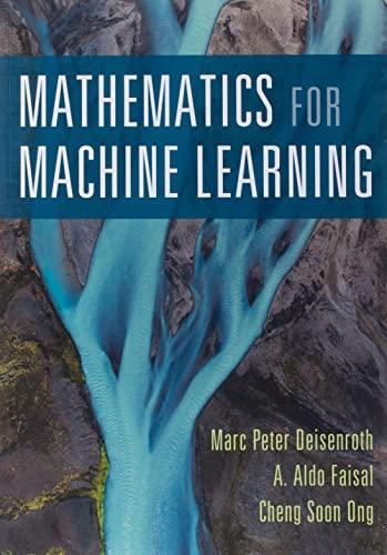9781108455145: Mathematics for Machine Learning