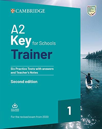 9781108525800: Key for schools trainer for update 2020 exam. Six practice tests with answers and teacher's notes. Per la Scuola media. Con espansione online. Con File audio per il download