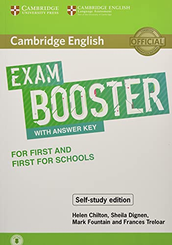 9781108553933: Cambridge English Booster with Answer Key for First and First for Schools - Self-study Edition: Photocopiable Exam Resources for Teachers