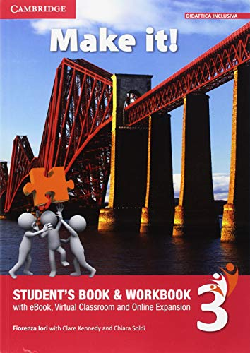 9781108557009: Invalsi Companion Elementary Make It! 3 Students Book/Workbook and eBook with Invalsi Companion Pack [Lingua inglese]